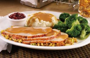 Turkey Dinner at Denny's