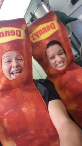 bacon suit at dennys in colorado celebrations renovations