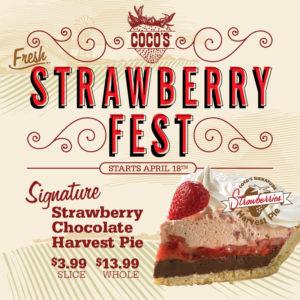 strawberry chocolate harvest pie