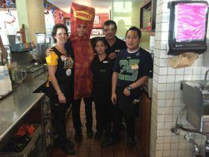 dennys server staff